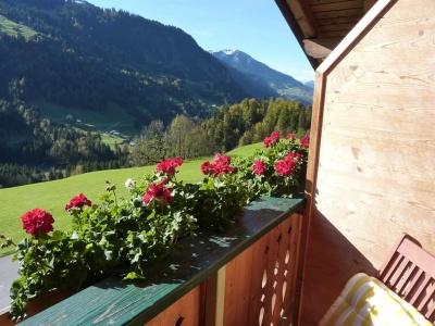 Balkon zu Zimmer Kellaspitze