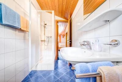 Duschraum Breithornzimmer