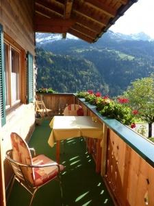 Sonne und Ausblick genießen-Balkon Aufenthaltsraum